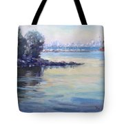 Sunset At Lake Ontario  Tote Bag