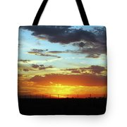 Sunset At Little River Victoria Tote Bag