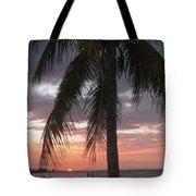 Sunset At Montego Bay Tote Bag