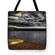 Sunset At Nicks Lake Tote Bag