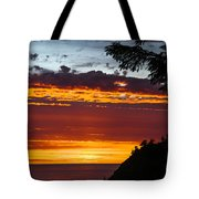 Sunset At Oswald West Tote Bag