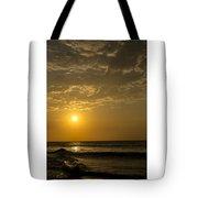 Sunset At Pacasmayo Beach 2 Tote Bag