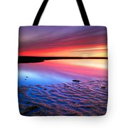 Sunset At Paines Creek Cape Cod Tote Bag