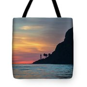 Sunset At Point Loma Tote Bag