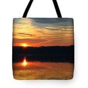 Sunset At Princess Point Tote Bag