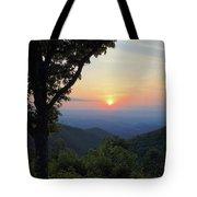 Sunset At Purgatory Mountain Tote Bag