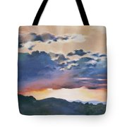 Sunset At Quialigo Tote Bag