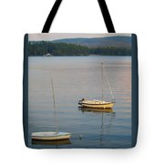 Sunset At Schroon Lake Tote Bag
