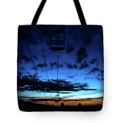 Sunset At Smugglers' Notch, Vermont - Portrait Tote Bag