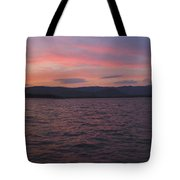 Sunset At Squam Lake New Hampshire Tote Bag