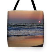 Sunset At St. Andrews Tote Bag