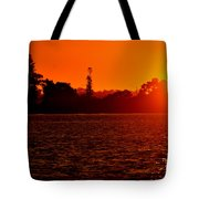 Sunset At Swan River II Tote Bag