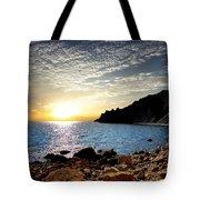 Sunset At The Black Sea Coast. Crimea Tote Bag