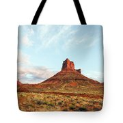 Sunset At The Castleton Tower Tote Bag