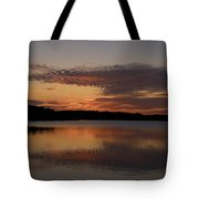 Sunset At The Gulf Of Bothnia 4 Tote Bag