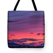 Sunset At The Ranch #2 - Patagonia Tote Bag
