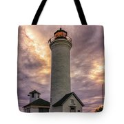 Sunset At Tibbet's Point Tote Bag