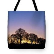 Sunset At Turlough Tote Bag