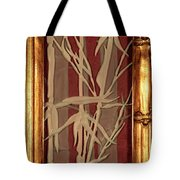 Sunset Bamboo With Frame Tote Bag