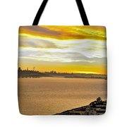 Sunset Bay Tote Bag by Kelley King