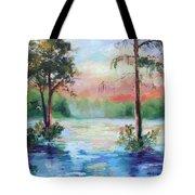 Sunset Bayou Tote Bag