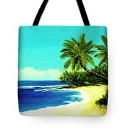 Sunset Beach Art North Shore Of Oahu In Summer #100 Tote Bag