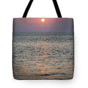 Sunset Beach Cape May New Jersey Tote Bag