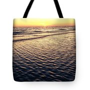 Sunset Beach In Florida Paradise Tote Bag