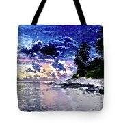 Sunset Beach Park Tote Bag