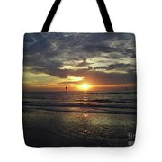 Sunset Beauty At Clearwater Tote Bag