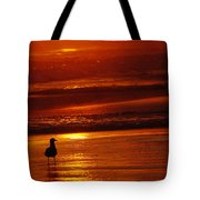 Sunset Bird 2 Tote Bag
