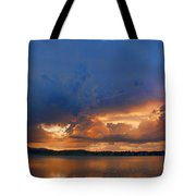 Sunset Blues Tote Bag