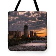 Sunset Bridge Tote Bag