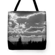 Sunset Bw Tote Bag