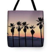 Sunset By La Tote Bag