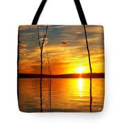 Sunset By The Water Tote Bag