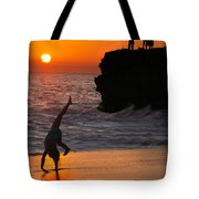 Sunset Cartwheel Tote Bag