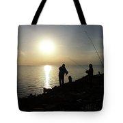 Sunset Catch, Nanticoke, Maryland Tote Bag