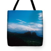 Sunset Cathedral Rock Sedona Arizona Tote Bag