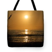 Sunset On Barefoot Beach Tote Bag