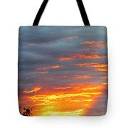Sunset Christchurch New Zealand Tote Bag