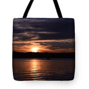 Sunset Tote Bag by Cim Paddock
