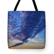 Sunset Cloud Formation Tote Bag