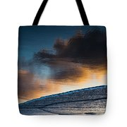 Sunset Clouds Reflect Tote Bag