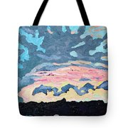Sunset Cold Front Tote Bag