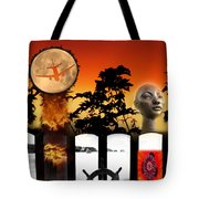 Sunset Composite Tote Bag
