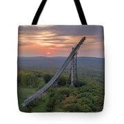 Sunset Copper Peak Tote Bag
