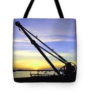Sunset Crane Tote Bag