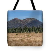 Sunset Crater Tote Bag