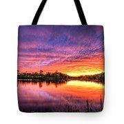 Sunset Culpeper Va Tote Bag